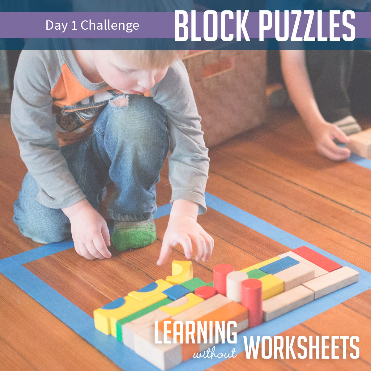 Learning Without Worksheets Challenge: Day 1!