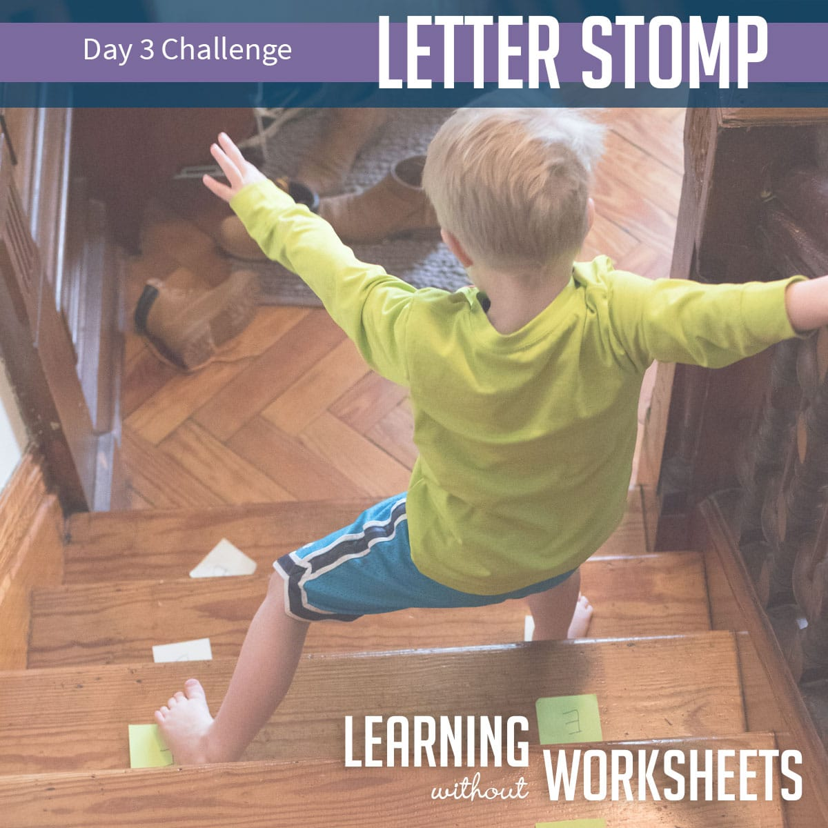 Learning Without Worksheets Challenge: Day 3!