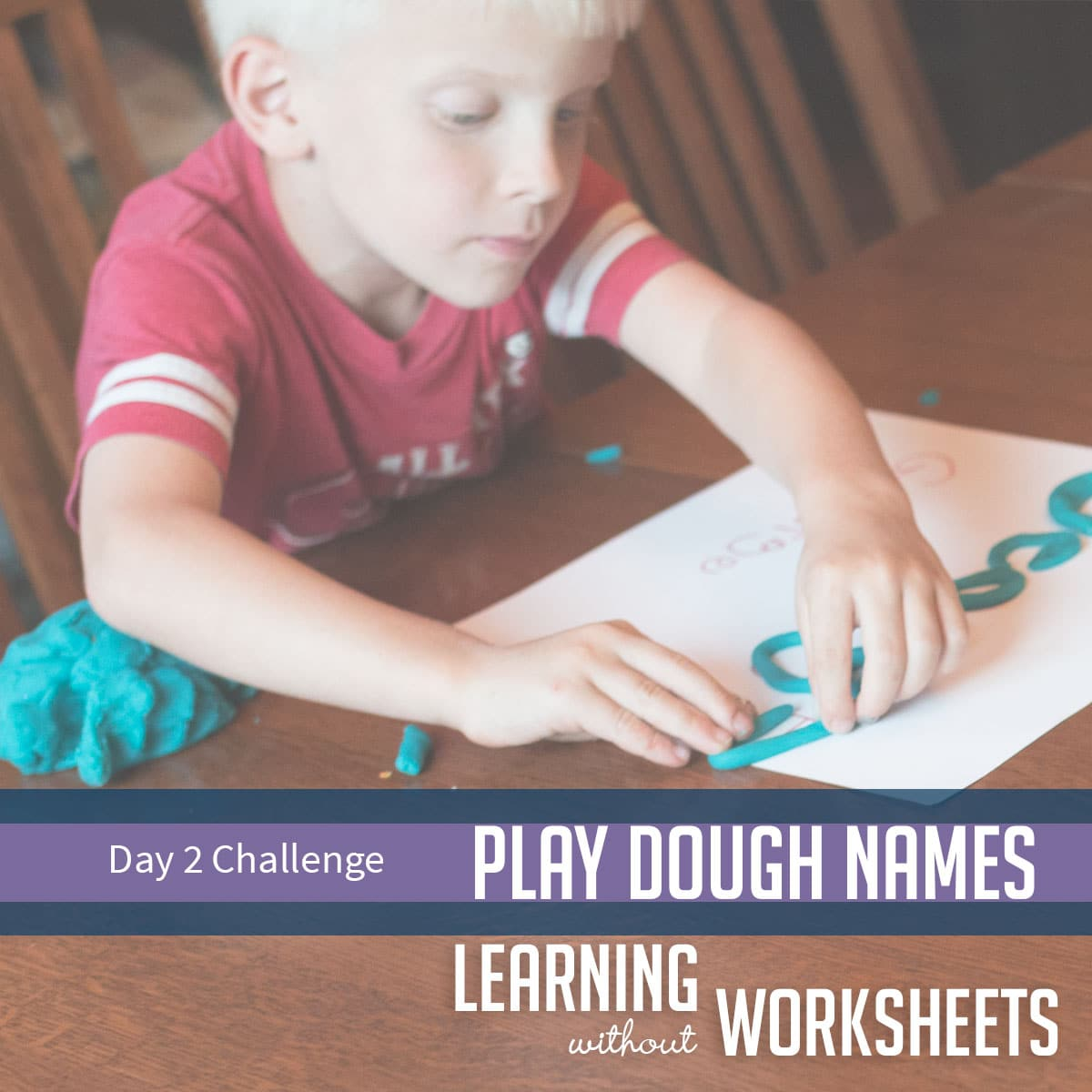 Learning Without Worksheets Challenge: Day 2!
